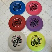 Fat Tire Flyer New Belgium Brewing Collectible Frisbee Disc Golf Lot Of 6