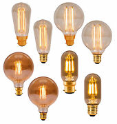 Bell Led 4w Antique Vintage Retro Squirrel/globe/tubular, Dimmable/non-dim Lamps