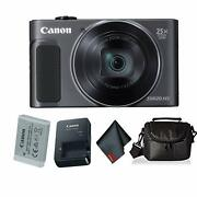 Canon Powershot Sx620 Hs Digital Camera Black Bundle With Carrying Case And
