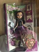 Mattel C2013 - Ever After High- Raven Queen -. Of The Evil Queen -damaged Box