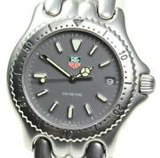 Tag Heuer Cell S99.213m Professional Quartz Stainless Gray Dial Boys Watch U0501