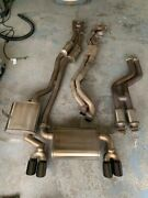 2001-2006 Bmw E46 M3 S54 Corsa 2.5andrdquo Exhaust Muffler System