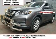 For 2014-2020 Nissan Rogue S/s Full Front Bumper Grill Guard Protector ,bull Bar
