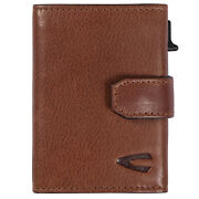 Camel Active Leather Purse With Rfid Protection Cognac-brown Trapani 31870222