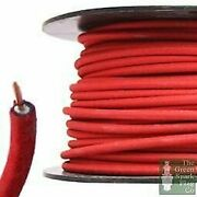30 Meter Roll 7mm Ht Ignition Lead Cable - Wire Core Cotton Braided Red