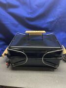 Vintage 1994 Marlboro Weber Gas Go-anywhere Grill Bbq Barbecue Used