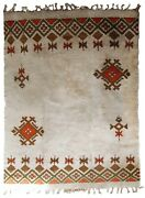 Handmade Vintage Moroccan Berber Rug 8and039 X 11.6and039 246cm X 355cm 1950s - 1c693