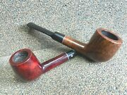 Kaywoodie - 2 Pipes - Flame Grain And 500 Us Pat - Smoking Estate Pipes / Pfeifen