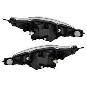 New Pair Of Headlight Fits Toyota Prius C Two Hatchback 1.5l 2018 81105-52m30