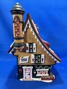 Dept 56 - North Pole Series- Elfin Snow Cone Works Christmas Collectable