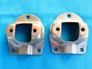 67-70,shelby,289,302,351,428,one Pair Used Reinforced Shock Tower Cap Brackets