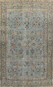 Antique Floral Oriental Traditional Hand-knotted Area Rug Wool 9x13 Ft Carpet