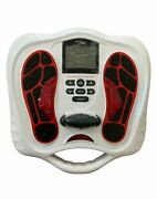 Circulation Plus Ems And Tens Foot Muscle Stimulator Machine - Two-system Booster