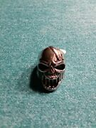 Beer Bottle Opener Skull Ring Size 8 Stainless Steel Free Shipping New With Tag