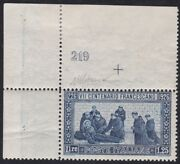 1926 Kingdom Di Italy Nanddeg 196 San Francesco Dent. 13 1/2 Mnh With Number Di T