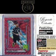 2019 Panini The National Vip Gold Pack Ruby Red Wave Prizm 78 Lionel Messi 23/25
