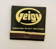 Vintage Front Striker Matchbook Geigy Agricultural Chemicals Yonkers New York Ny