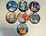 Disney's Cinderella Collector Plates By Knowles Set Of 7 Plates New