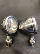 Original 1933 1934 Ford Cowl Lights Lamps   3
