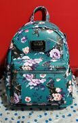 Loungefly Star Wars Floral Darth Vader Mini Backpack - Nwt