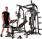 Marcy Smith Cage Workout Machine Total Body Training Home Gym System With Linear