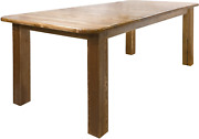 Montana Woodworks Homestead Collection 4-post Dining Table With Two 18-inch Leav