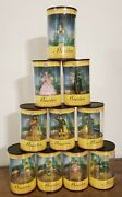 Wizard Of Oz Warner Brothers Miniature Classic Collection Figurines/ Lot Of 10