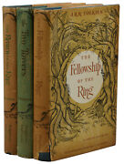 The Lord Of The Rings Trilogy Jrr Tolkien First Us Edition Set 161211 1st