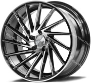 20 Bp Zx1 Alloy Wheels Fits 5x108 Ford Kuga Mondeo S Max Transit Connect