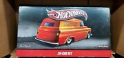 Sealed 2010 Hot Wheels Delivery Vehicles Real Riders 20 Car Set.autographed