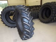 Two New 16.9-38 14 Ply R1 Tractor Tires
