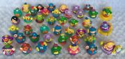 Lot Of 44 Hasbro Playskool Weebles + Horse, Chair And Bed 2000-2005