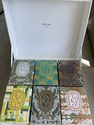 Diptyque Set 6 City Collection Scented Candles 6.5 Oz 190g New Sealed
