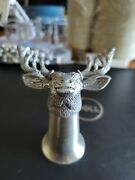 Jagermeister Deer Stag Promotional Pewter Stainless Shot Glass + More