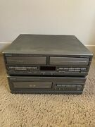 Denon Udc-60 Udr-60 Tape Cassette Cd Players Untested Combo Component Players