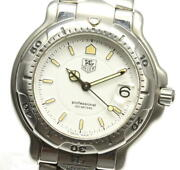 Tag Heuer Professional 200m Wh1211 Quartz Stainless White Dial Boys Watch U0503