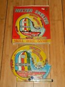 Marx Toys Helter Skelter Skill Ball Game Bagatelle Vintage Toy Rare Boxed E579