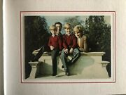 Rareandnbsp Princess Diana With Charles William And Harry Signed Christmas Cardandnbsp
