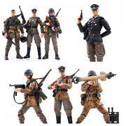 1/18 Wwii Germany Soldiers Collectible Toy 7pcs Set Wehrnacht Camouflage Officer