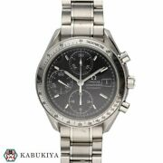 Omega Speedmaster Date 3513.50 Black Automatic Stainless Menand039s Watch [b0504]
