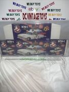 1986 Kenner Real Ghostbusters Ecto-1 Series 1 Vehicle Box Flat White Text Afa 80