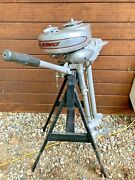 1940s Montgomery Wards Sea King 3.0 Hp Outboard Omc Built Antique Outboard