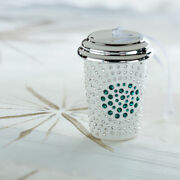 2014 Starbucks Crystal Coffee Cup Limited Edition Christmas Ornament