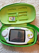 Leapfrog Leapster Gs Green/white Handheld W Case Toy Story 3 Game Free 🚚