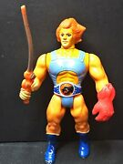 1985 Ljn Toys Thundercats Lion-o Action Figure Orange Hair, Sword And Red Claw