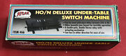 New Atlas Ho N Scale Deluxe Under-table Switch Machine 66 In Box