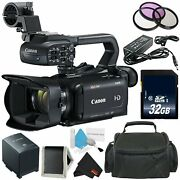 Canon Xa15 Compact Professional Camcorder - Full Hd With Sdi Hdmi And Bundle 7