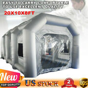 Car Inflatable Spray Paint Booth Tent With Window And Filter System Painting House