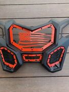Full Front 4 Pieces Custom Grilles For Canam Maverick X3