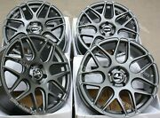 18 Grey Cr1 Alloy Wheels Fits 2014 Renault Trafic Camper High Roof Bus 5x114